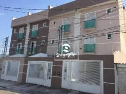 Cobertura com 2 dormitórios à venda, 98 m² por r$ 250.000,00 - vila suíça - santo andré/sp