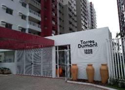 Vende-se Apartamento no Ed. Torres Dumont com 3/4 sendo 1 suíte, 1 vaga, Prédio novo