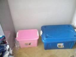 Vendo caixas organizadoras usadas