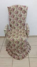 Cadeira presidente com capa