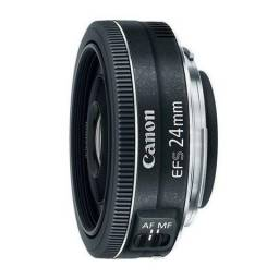 Lente Canon Ef-s 24mm F/2.8 Stm Grande Angular - Wide Angle