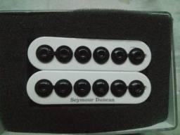 Captador Seymour Duncan Invader U S.A neck/ BRAÇO! Branco 10,4k impecável!