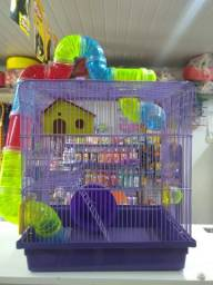 Gaiola para hamster tubulação Nova