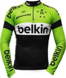 Promoção 5 camisas de ciclista manga longa