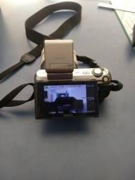 Câmera semi profissional da Sony nex c3. Impressora fotográfica hiti.