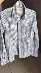 Camisas sociais Abercrombie e Angelo Bertoni
