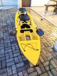 Vendo ou troco por bote inflável casco rigido caique duplo