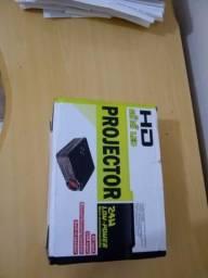 Mini Projetor LED/HD