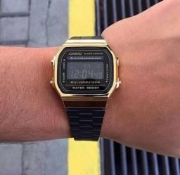 c976a366e45 Relógio Casio Vintage 1°Linha Passo Cartão