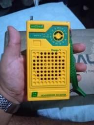 Rádio duas faixas Motobras Dunga V