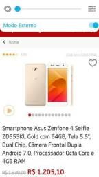 Vendo celula Azus zenfone4 self