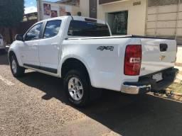 Chevrolet S10 LT - 17/18 - camb. aut. - Diesel - 4x4 - cab dupla - branca - 100% asfalto - 2018