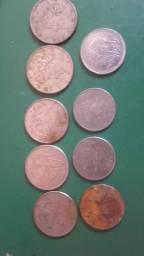 9 moedas por (10.00)