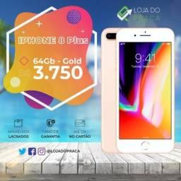 Iphone 8 Plus 64Gb - Novo / Lacrado - O Queridinho de Todos Aqui Tem!