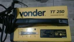 Máquina de solda vonder tt250