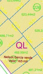 Nelson Garcia vende terreno no Alphaville com área de 482,50m2. Valor: 165 mil