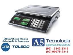 Balança Toledo Prix 3 Fit 15Kg Com Bateria Nova Com Selo e Lacre Inmetro!!!