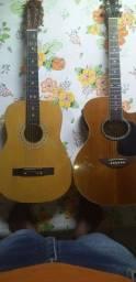 Dois violão por apenas 250$ pra vender hoje