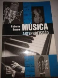 Livro Música Arte Profissão 10$