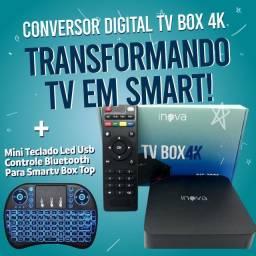 Tb box inova mais mini teclado led