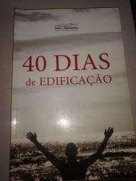 Livro 40 dias de edificação 10$