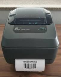 Impressora Térmica Zebra Gk420t USB Com Garantia comprar usado  Cuiabá