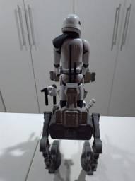 Star Wars com boneco e veículo