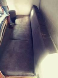 Sofá desmontado