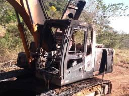 Pra retirar peças Escavadeira hyudai LC7 210