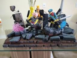 Diorama Goku Black vs Trunks