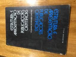 Livro: Estrutura e Apresentação de Publicões Científicas