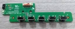 PLaca de Botão de Comando Tv Philco Ph32b51dsgwa Original Seminova