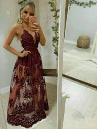 Vestido vermelho divo