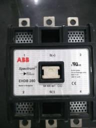 Contactora 600 V DC 280 A Bobina 127v