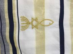 Talit Messiânico Com Bolsa Original Israel
