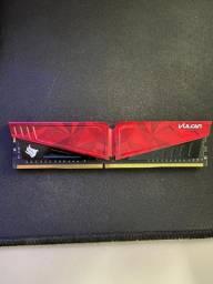 Memória ram DDR4 2666MHz 8GB T-Force Vulcan