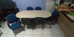 Mesa Escritório com Cadeiras