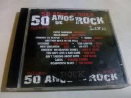 Cd - comemorativo - 50 anos do rock