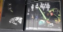 BOX DVD TRILOGIA STAR WARS + EXTRA LACRADOS
