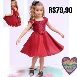 Lindos vestidos pra sua princesinha
