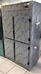 Refrigerador comercial 4 portas em inox - Ricardo *