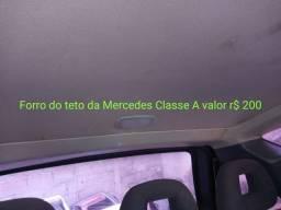 Forro do teto da Mercedes Classe A valor r$ 200