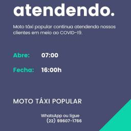 Moto táxi - Itaperuna RJ