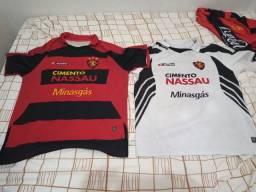 Camisa Sport Recife 2008 campeonato Brasileiro