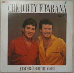 Título do anúncio: Lp Chico Rey E Paraná 1987 Vol.5 Quem Será Seu Outro Amor?, vinil sertanejo