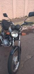 Título do anúncio: Fan 2008, 125cc, prata RS 4000