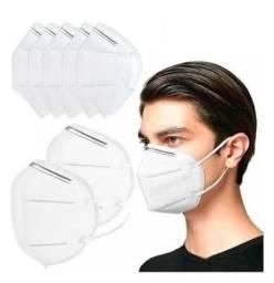 Melhor compra é aqui! Máscara Respiratória KN95 - modelo N95 Pff2