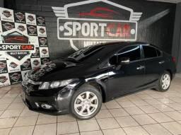 Título do anúncio: Entrada apartir de 8.000 ou use seu FGTS como entrada - Honda Civic EXS 1.8 AT- 2012