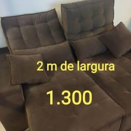 Título do anúncio: Sofa reclinável único dono