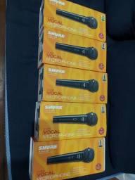 Título do anúncio: Microfone De Mão Com Fio Shure Dinâmico Sv200 Cardióide Voz